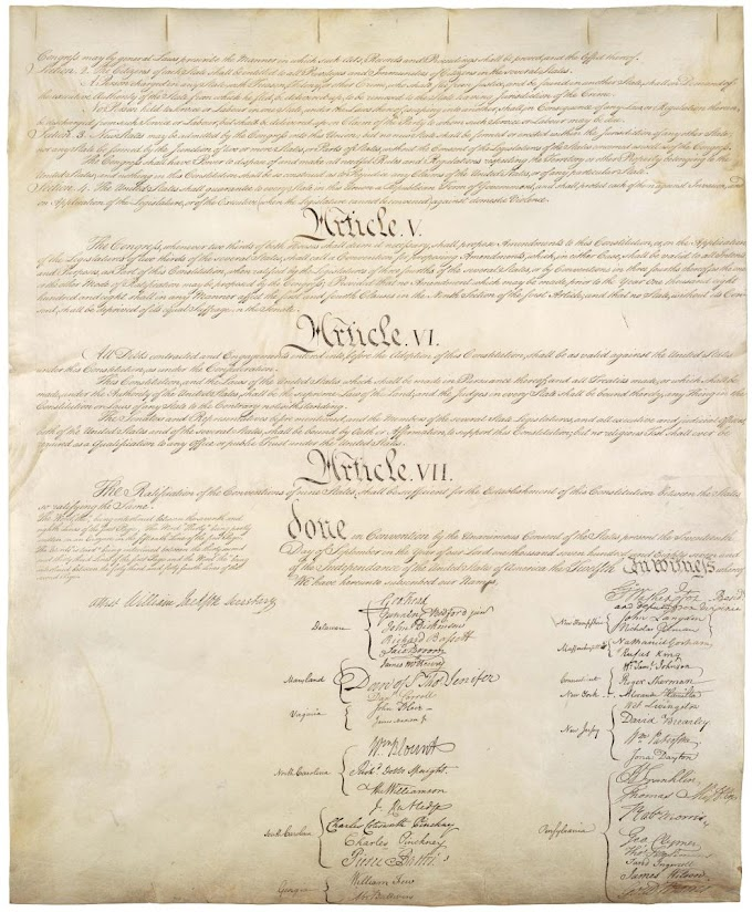 THE CONSTITUTION OF THE UNITED STATES: ARTICLE FIVE