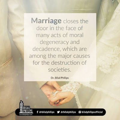 Whoever among you can marry, should marry, because it helps him lower his gaze and guard his modesty | Islamic Marriage Quotes by Ummat-e-Nabi.com