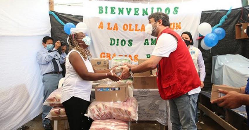 MINEDU: Ministro Cuenca supervisa entrega de 54 toneladas de alimentos en Comas
