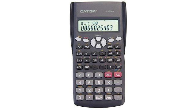 CATIGA CS-183 2-Line LCD Display Scientific Calculator