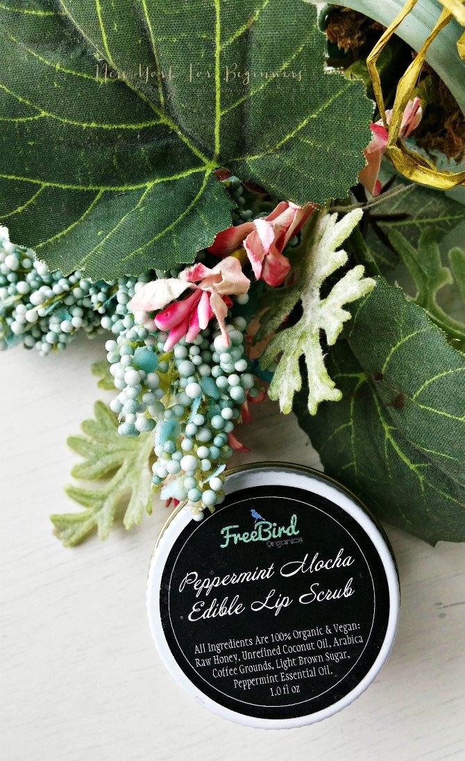 organic lip scrub by freebird organics