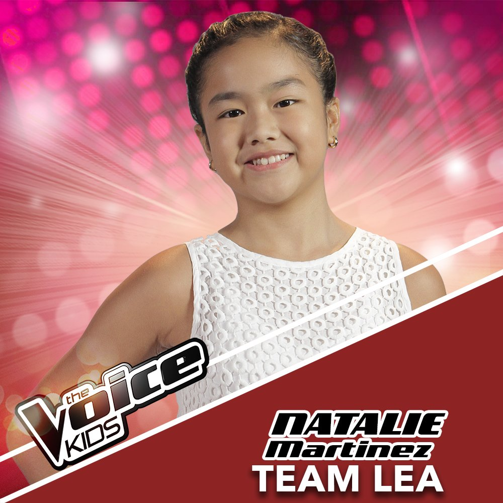 Natalie Martinez joins Team Lea on 'The Voice Kids'