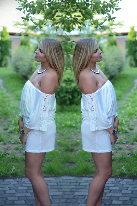 WHITE DRESS | DiaDolos