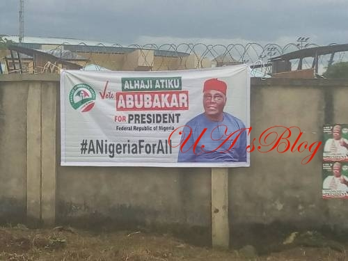 SHOCKING: No Single Saraki Poster In Port Harcourt Hours Before PDP Presidential Primary