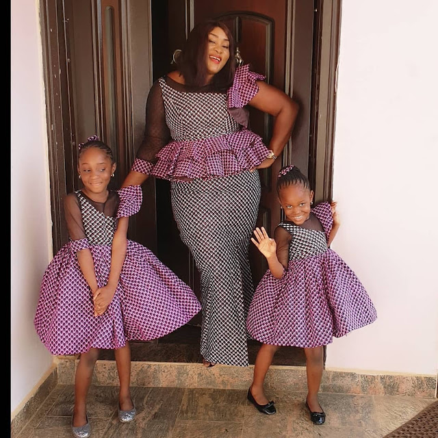 2019 Ankara Designs for Mother and Duaghters