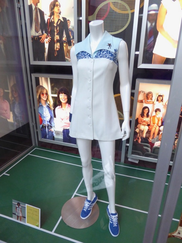 Battle of the Sexes Billie Jean King tennis costume