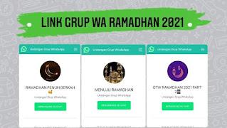 Grup Wa Ramadhan 2021