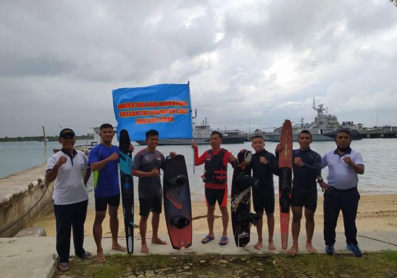 Atlit Ski Air dan Wakeboard Semarakan HUT ke-75 RI di Pulau Bau