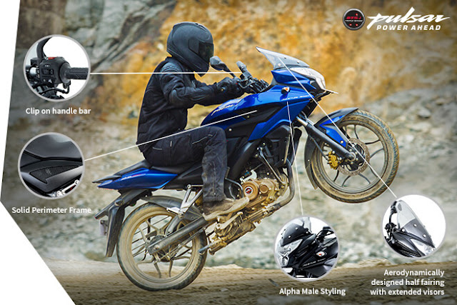 Pulsar AS 150 Styling