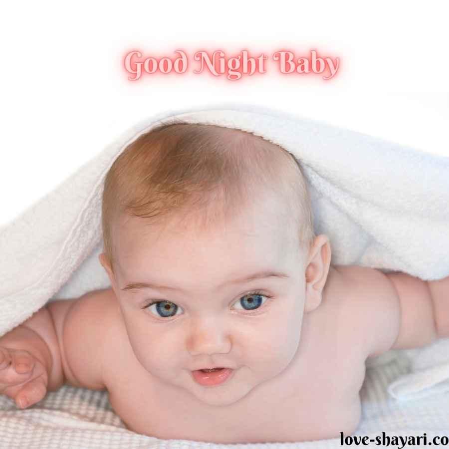 good night baby photo
