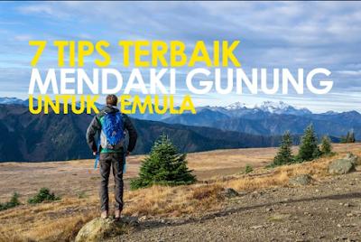 Tips aman Mendaki Gunung untuk Pemula