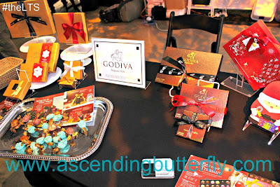 Godiva Chocolate presents at New York Luxury Technology Show 2017