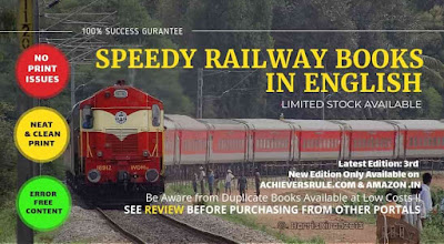 Speedy Railway Books in English by Venus Publication
