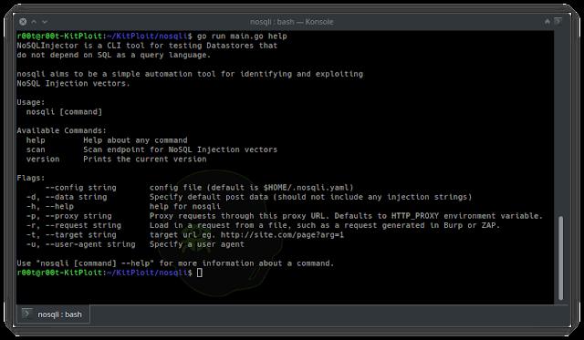 NoSQLi – NoSql Injection CLI Tool