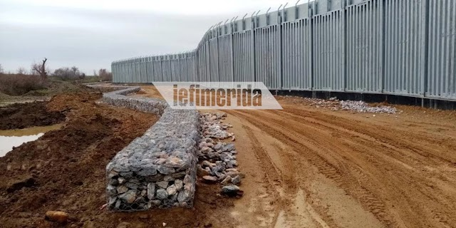 ΒΙΝΤΕΟ: Δείτε πώς κατασκευάζεται ο φράχτης στον Εβρο μήκους 27 χιλιομέτρων