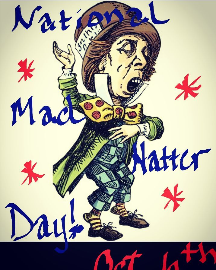 National Mad Hatter Day Wishes Unique Image