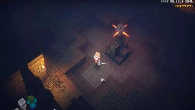 Cara Membuka Gerbang Creepy Crypt di Minecraft Dungeons-1