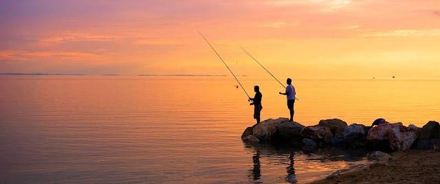 Τώρα που τελειώνει το κυνήγι, επιτρέπεται το ψάρεμα