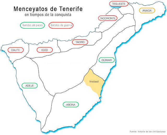 Menceyatos de Tenerife