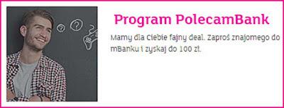 mBank, eKonto m, program PolecamBank