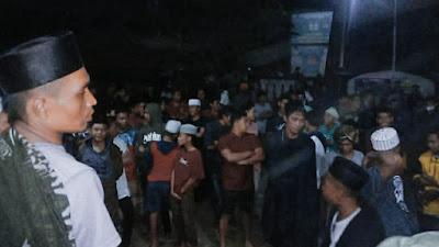 Tak Puas, Ratusan Warga Dusun Cempaka Kembali Geruduk Kantor Polsek Suela