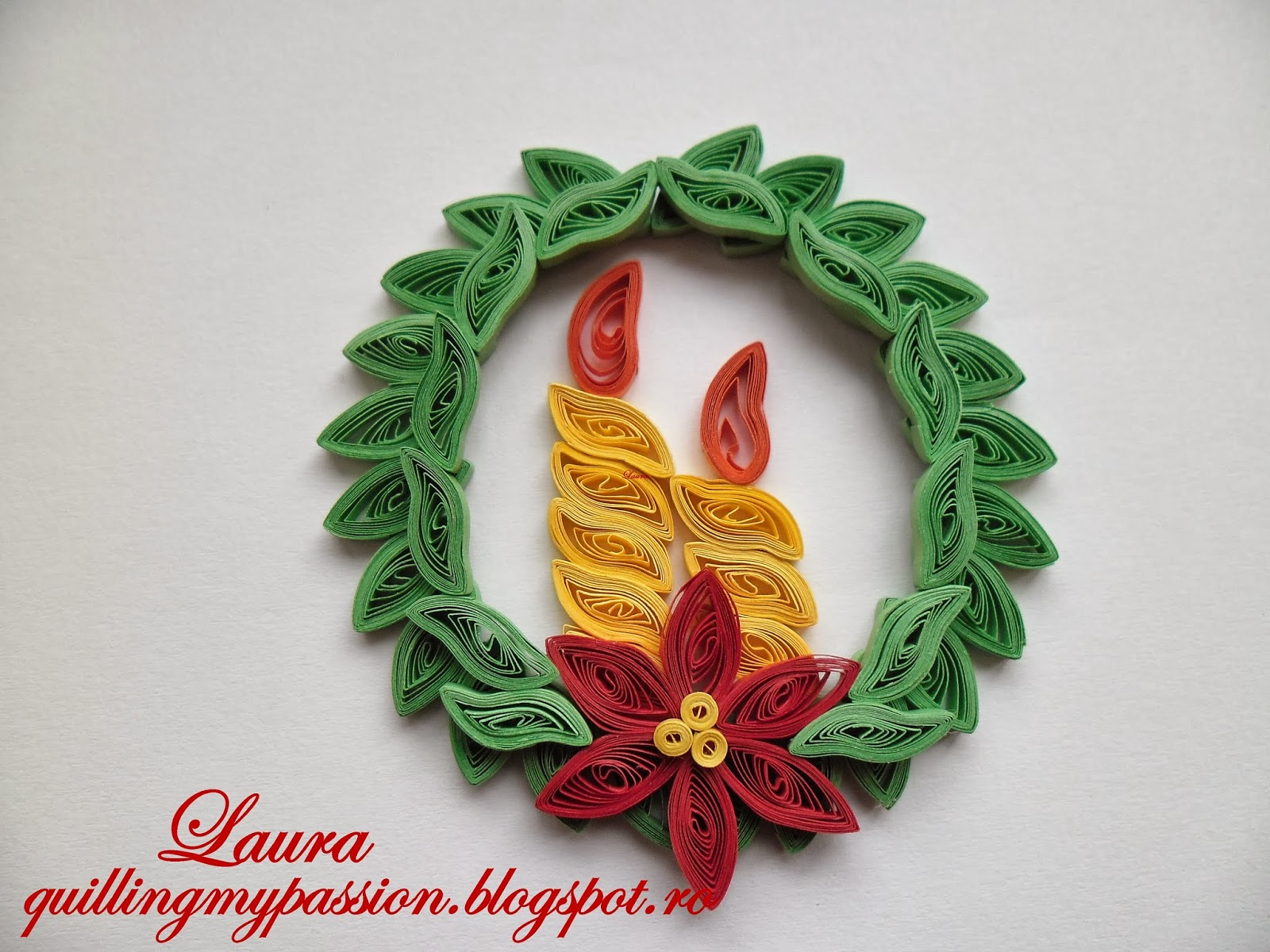 Quilling Christmas Tree Decorations Christmas Decorating