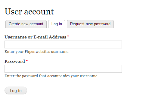 Login using mail address and usename in Drupal 7