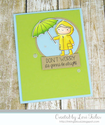 Don't Worry card-designed by Lori Tecler/Inking Aloud-stamps from Mama Elephant