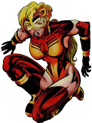 speedster wanita dc
