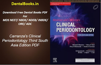 Carranza's Clinical Periodontology Third South Asia Edition PDF