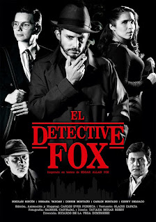 Poster 2 El Detective Fox