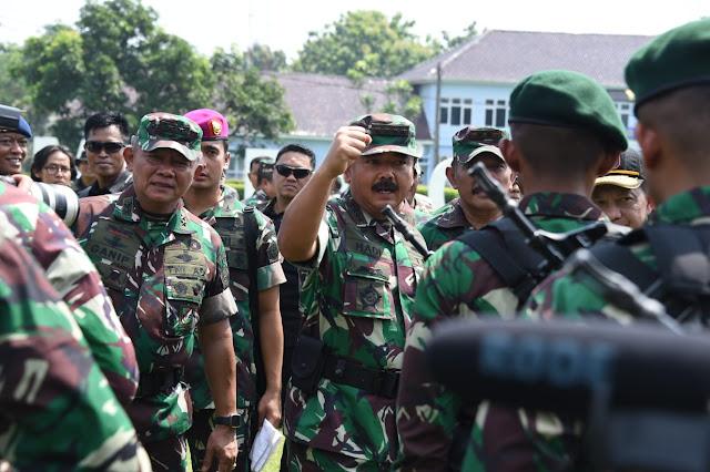 Panglima TNI : Amankan dan Sukseskan Pesta Demokrasi 2019