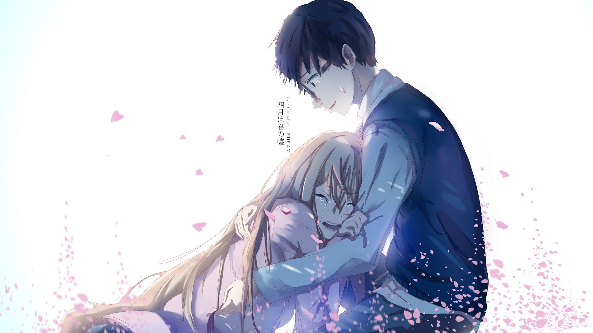 your lie in april wallpaper hd