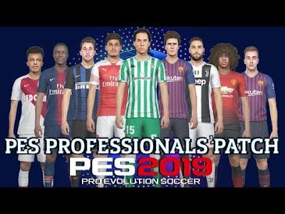 PES 2019 PES Professionals 1.0 DLC 4.2 Update Brasileiro 2019