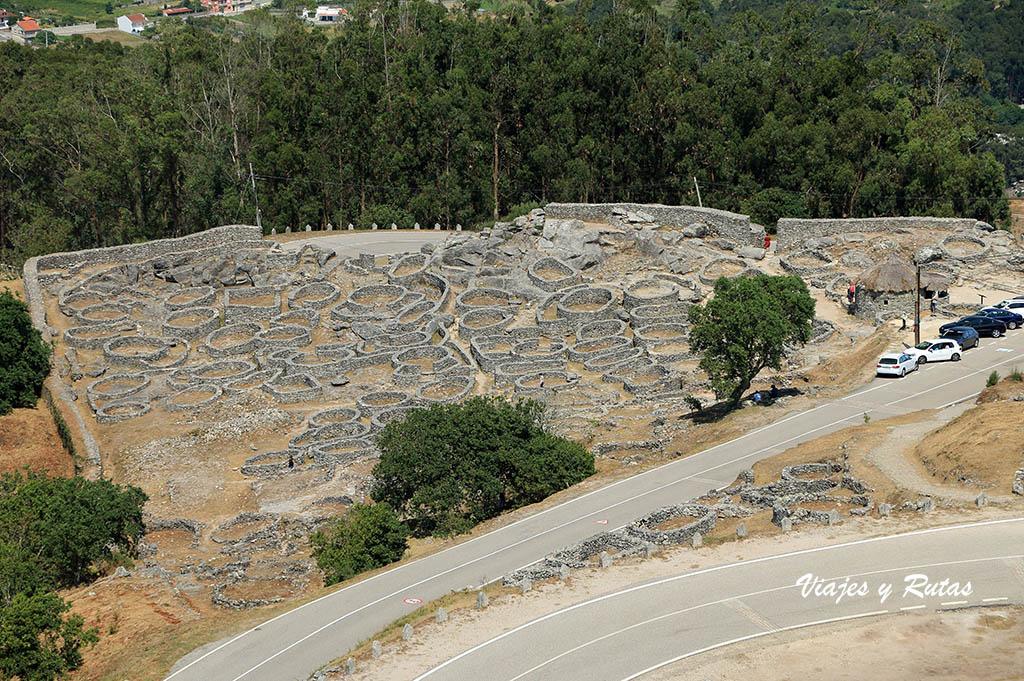 Castro de Santa Tecla, A Guarda
