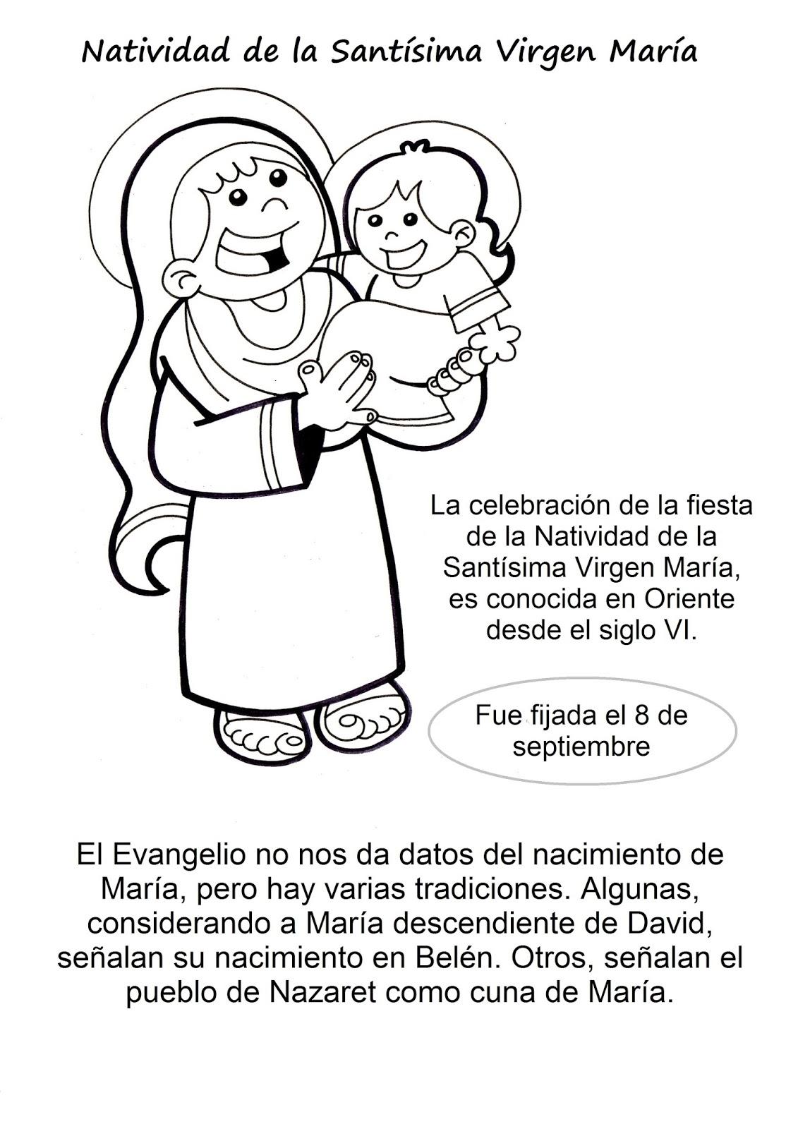 El Rincón de las Melli: 8 de setiembre: Natividad de la Santísima ...
