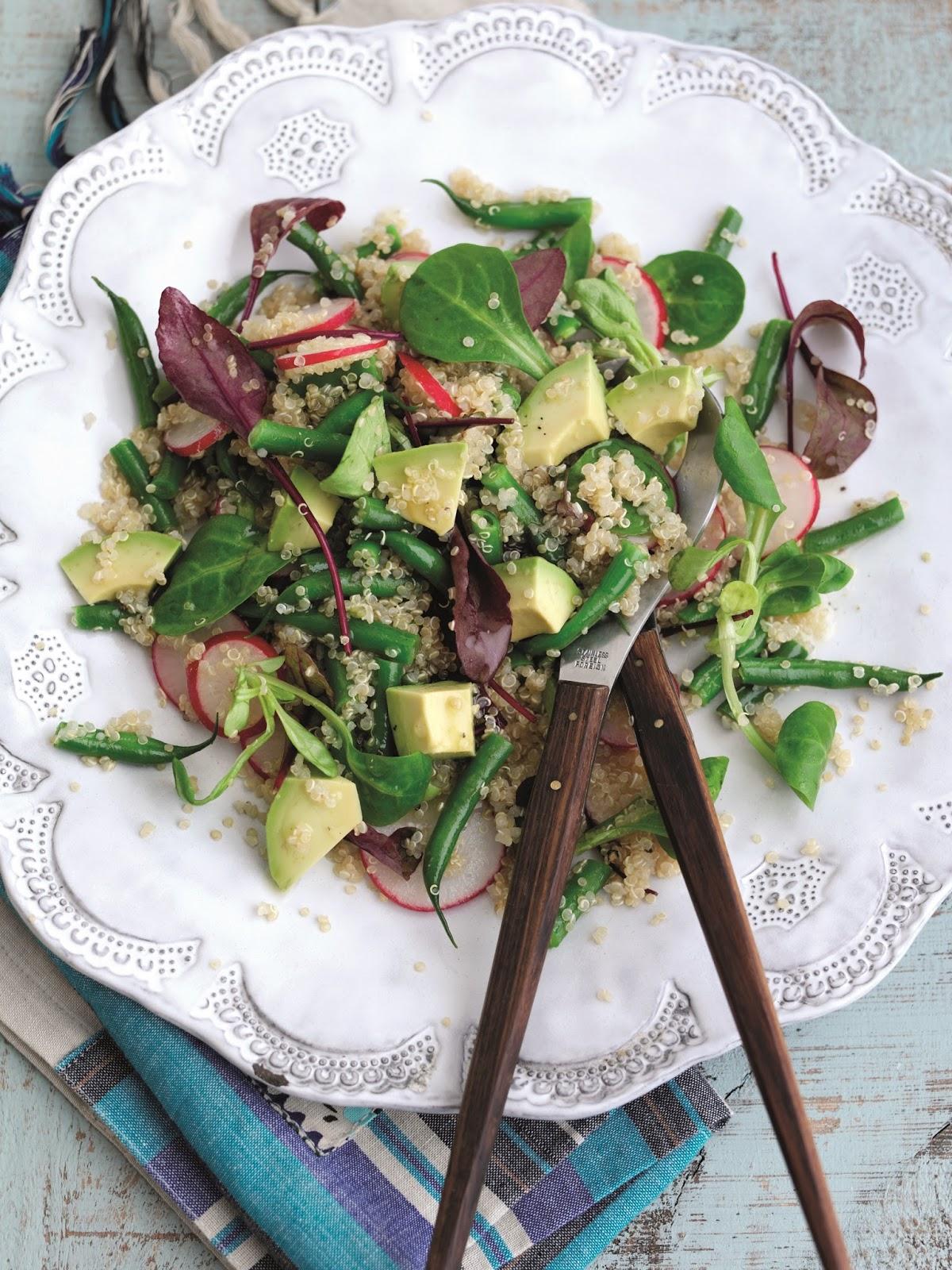 Avocado, Quinoa And Radish Salad