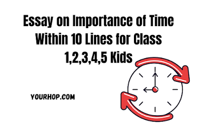 Essay on Importance of Time