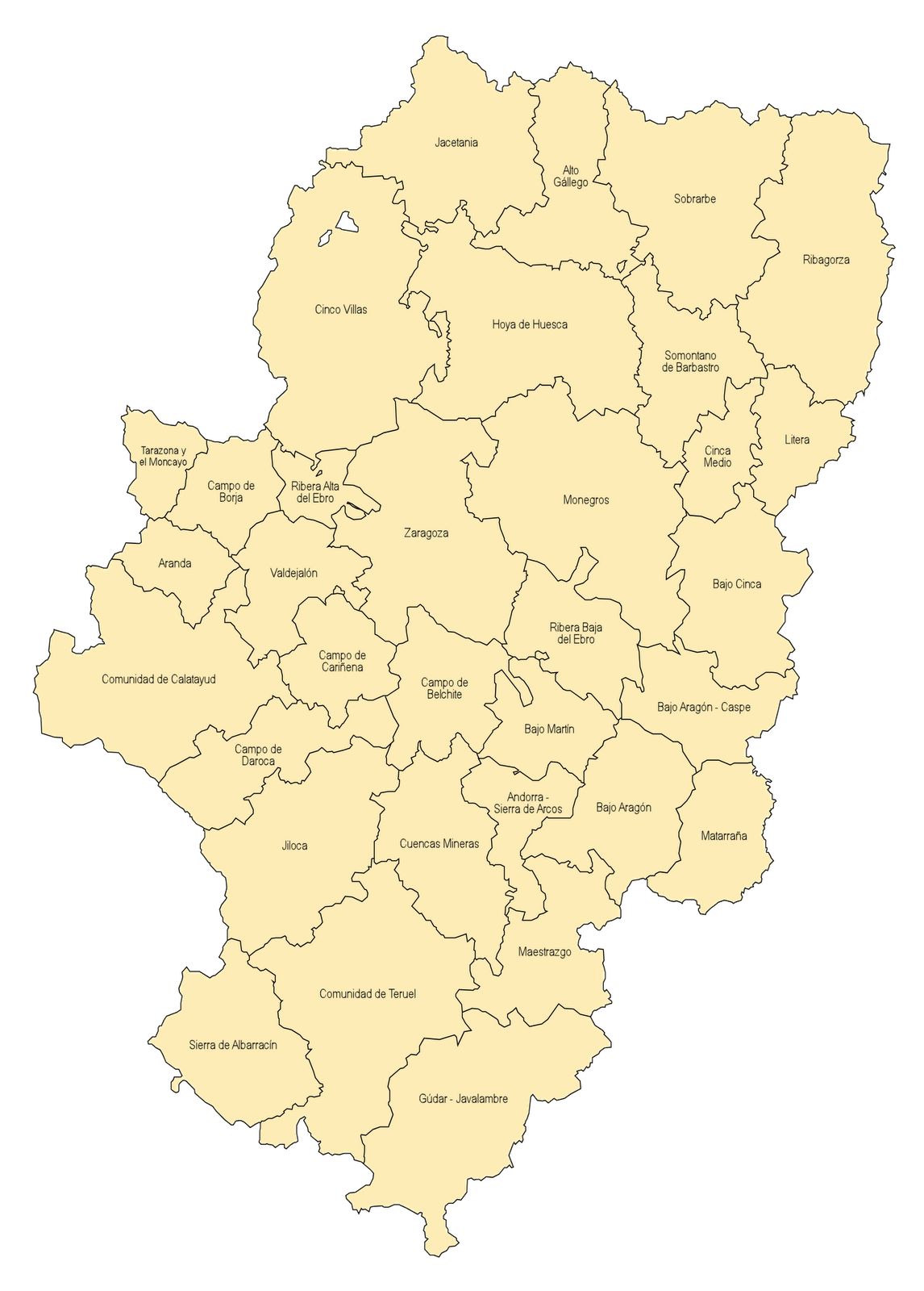 Map of Spain Pictures and Information