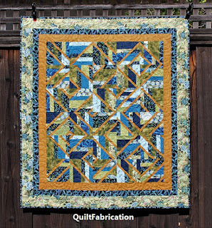 ACCENT ON ANGLES-JELLY BEANS-STRIP QUILT