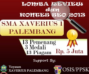 Ikut Kontes Review SMA Xaverius 1 Palembang