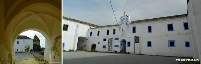 Antigo convento e orfanato no interior do Castelo de Montemor-o-Novo