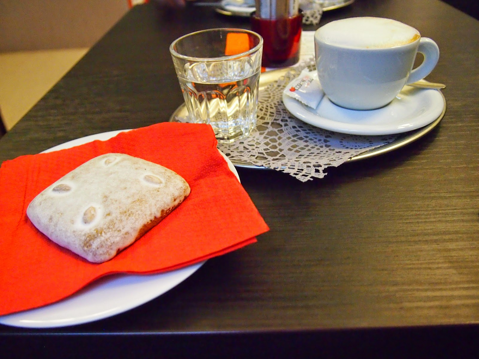 Treats at the Leica Cafe in Prague