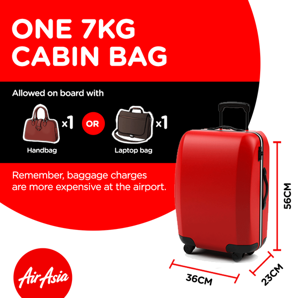 POLISI CHECK IN BAGASI AIRASIA