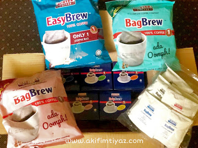 Blogger review Mister Coffee