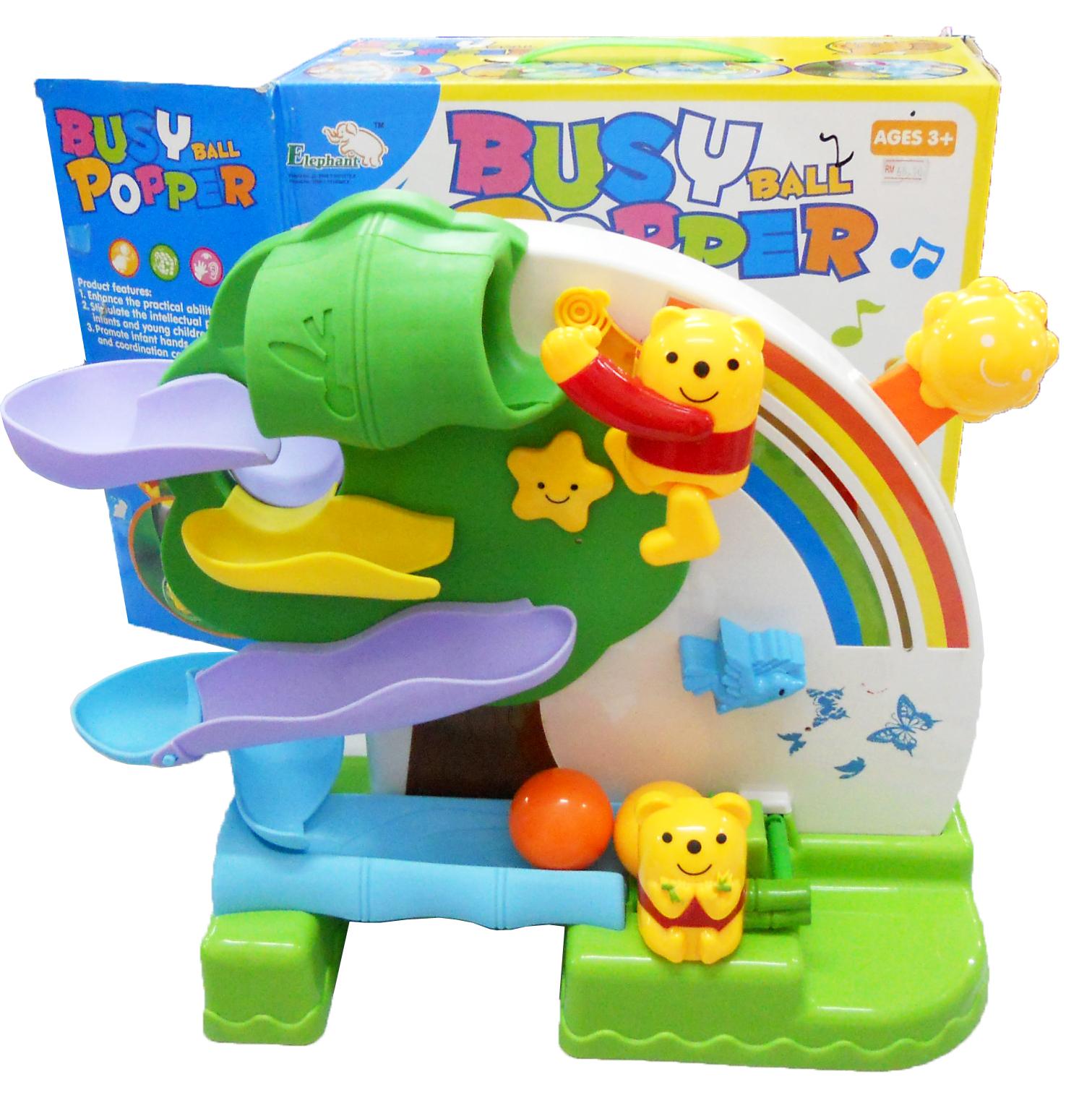 Best Ball Popper Toys For Kids : Bongbongidea toy bear catch and drop balls ball popper