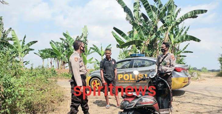 Antisipasi Judi Sabung Ayam, Personel Polsek Polsel Rutin Lakukan Patroli Mobile Di Wilayahnya