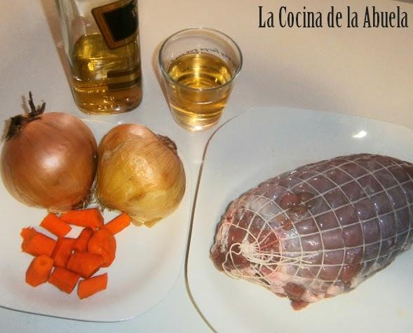 Rollo de Carne al Whisky