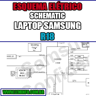 Esquema Elétrico Manual de Serviço Notebook Laptop Placa Mãe Samsung R18 Schematic Service Manual Diagram Laptop Motherboard Samsung R18 Esquematico Manual de Servicio Diagrama Electrico Portátil Placa Madre Samsung R18