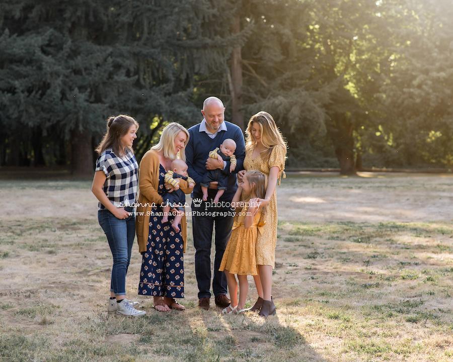 eugene oregon family portraits
